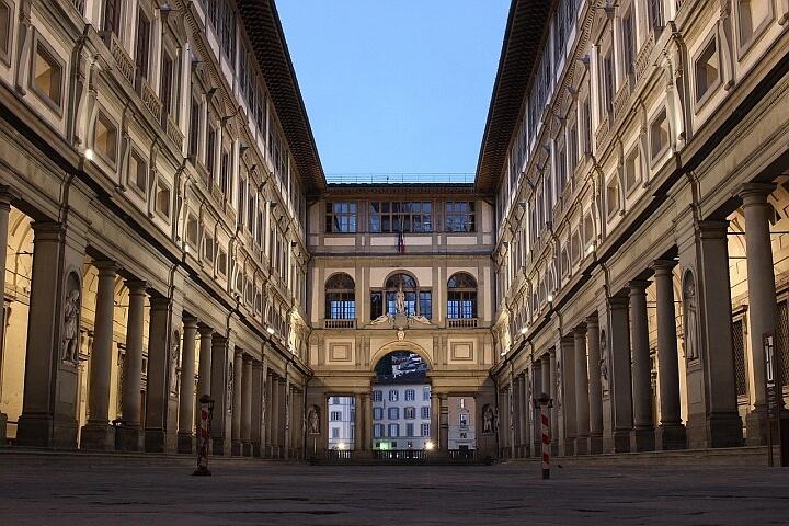 Co robić podczas epidemii? Wirtualne zwiedzanie - Galeria Uffizi.